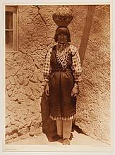 Edward Sheriff Curtis, American (1868-1952), Shuati - Sia, photogravure, on tissue,