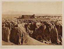 Edward Sheriff Curtis, American (1868-1952), Acoma from the south, photogravure, on tissue,