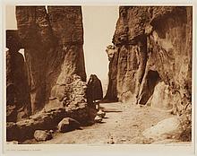 Edward Sheriff Curtis, American (1868-1952), At the Gateway - Acoma, photogravure, on tissue,