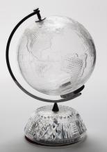 Waterford Crystal Terrestrial Globe,