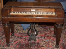 Antique American Melodian by George Prince, Buffalo, NY, circa 1845