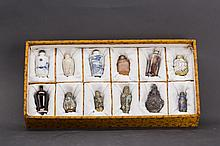 Group of 12 Snuff Bottles