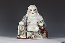 Chinese famille rose porcelain Maitreya