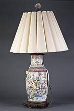 Famille Rose  Porcelain Light