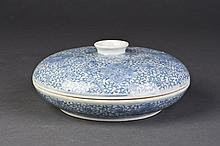 White and Blue Porcelain Fruit Tray