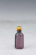 Tourmaline Snuff Bottle