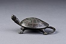 Bronze Tortoise Paper Weight