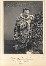 Stunning, large signed photograph of Enrico Caruso as the Duke of Mantua in the Met Opera's 1904 production of 'Rigoletto'