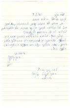 David Ben-Gurion autograph letter signed about the Altalena affair