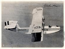 Glenn H. Curtiss rare signed photo of his historic seaplane