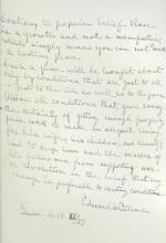 Edward Filene autograph MS signed by Boston retailer on peace