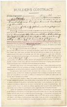 Joseph Pulitzer rare document signed by the famous journalist