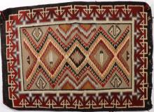 Navajo Saddle Blanket, E.20th C.