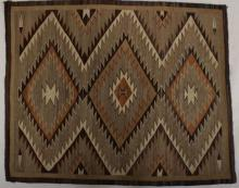 Navajo Blanket, 1st Q, 20th C.
