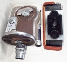 Group of two uinrage cameras, American, 20th century.
