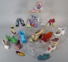 Group of Collectable Shoes, 19th/20th cent.