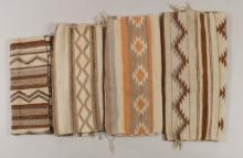 Group of South Western Woven Rugs/Blankets. 20th C.