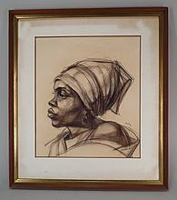 A. Kofi Bailey, African-Am., 1931-1981, Portrait
