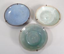 3 Small Asian Serving Dishes/Bowls, 10-15th C.