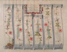 17th C. British Maps, Ogilby and John Speed
