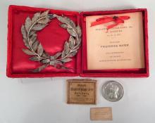 Mozart Centennial Commemorative Medal, 1891