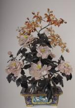 Asian Hardstone Flowering Tree, 20th c