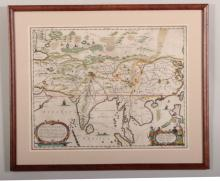 A. Kircher, Map of Asia, 1667