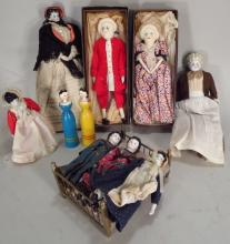 Group of 11 Dolls