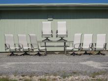 Set of Patio Furniture, 20th C.