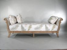 Regency Style Upholstered Day Bed