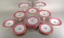 28 Pcs: Copeland Partial Dinner Service and more