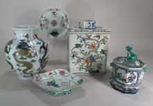 5 Chinese Porcelain Vessels