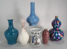 6 Chinese Porcelain Vases
