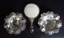 Pair of Silver Candy Dishes