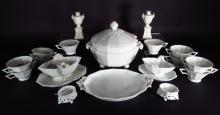 Group of Nymphenburg Porcelain Table Articles