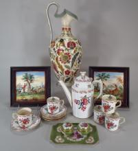 Group of European Porcelain Royal Crown Derby