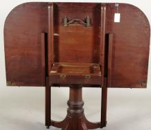 George III Style 3 Pedestal Dining Table