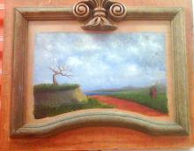 Painting By Hand In Oil or Pastels