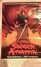 Shogun Assassin Poster Film Japanese and American