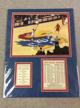 2008 NCAA Tournament Champions Framed Photo with Record and Roster