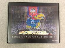 Framed Photograph of 2008 NCAA National Championship