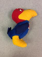 Stuffed KU Jayhawk