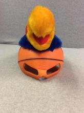 KU Jayhawk Basketball Hat Mask
