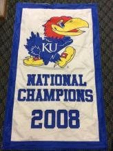 2008 National Champions KU Banner