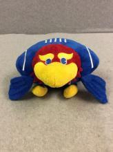 Stuffed KU Football Jayhawk