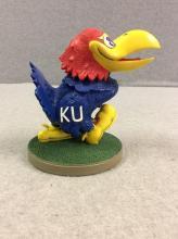 Hand-Painted KU Jayhawk Figurine