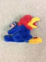 Small Stuffed KU Bean Bag Jayhawk