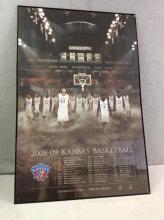 KU Basketball Poster - 2008-09 Team