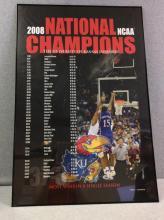 2008 KU NCAA National Champions Poster