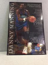 2008 Hall of Fame Inductee Poster - Danny Manning